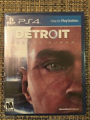 Brand New Factory Sealed  Detroit  Become Human  Ps4  2018    Just Released