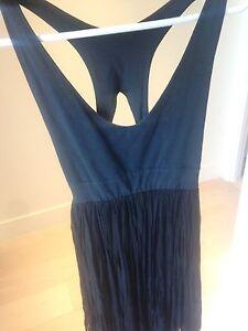 Black fairy style crop top dress - Love is treason - size 10 Erskineville Inner Sydney Preview