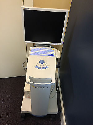 Sirona Cerec 3 Milling Machine And Acqusition Machine With Updated Software