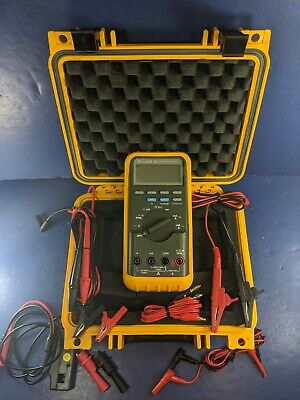Fluke 86 Automotive Meter Screen Protecotr Hard Case Rpm Probe More