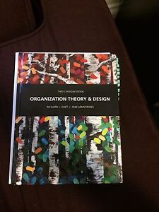 Organization Theory & Design 3E