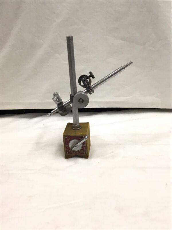 Enco Model No.340 On/Off Magnetic Base Indicator Holder With Fine Adjustment