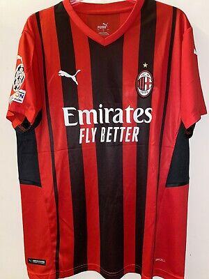 Maglia Rossonera Puma AC Milan Champions League 2021 2022 Kessiè 79 Taglia...