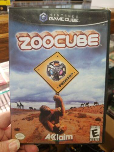 ZooCube (Nintendo GameCube, 2002) Wii complete