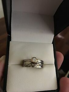 18k white gold ring set Coorparoo Brisbane South East Preview