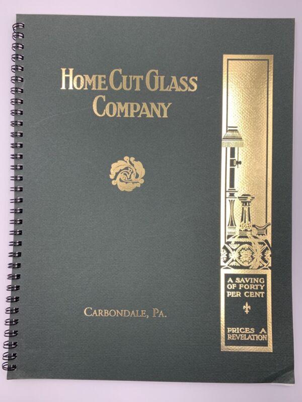 Home Cut Glass Company Catalog Carbondale PA American Cut Glass Association