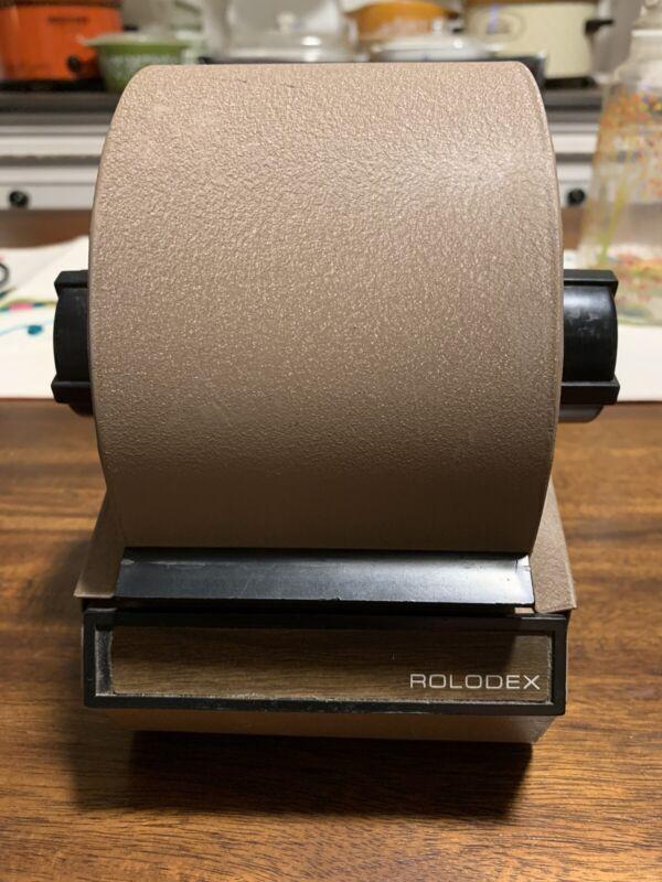 VINTAGE Metal Rolodex Model 1753 w/Unused Cards
