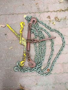 Chain and load binder