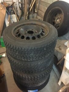 BMW E36 winter wheels and tires for sale