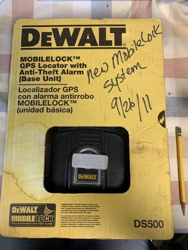 NEW DeWalt DS500 Mobilelock GPS Locator with Anti-theft Alarm