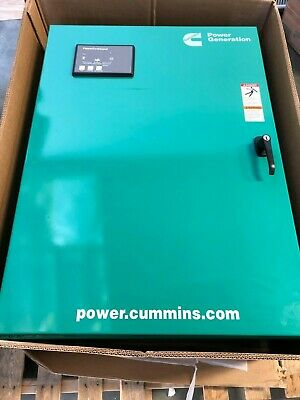 New 150 Amp Cummins Automatic Transfer Switch OTECB 480 VAC 3 PHASE 0306-5026-05 3 Phase Automatic Transfer Switch
