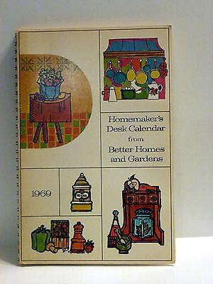 Better Homes and Gardens 1969 Desk Calendar