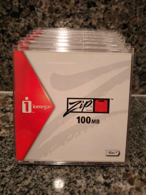 Iomega Zip Brand 100MB 7 Disks