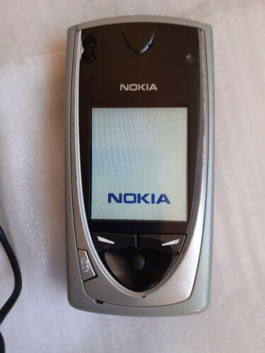Nokia 7650 schwarz grau silber Kult Handy - Smartphone