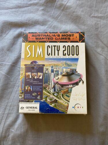 Computer Games - SIM CITY 2000 Computer PC Game