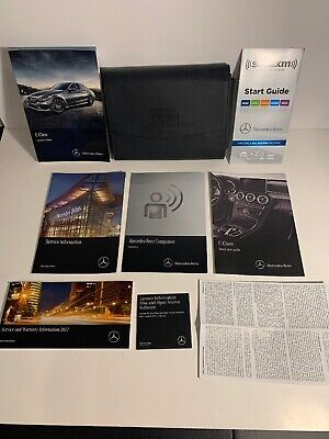 2017 MERCEDES BENZ C CLASS OWNERS MANUAL C300 C350E C43 C63 S 4MATIC *LIKE NEW*