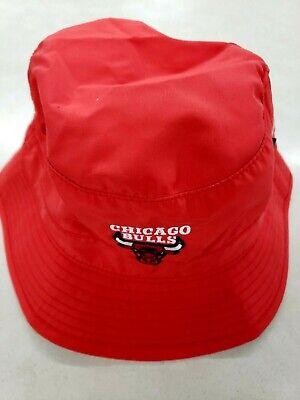 CHICAGO BULLS NBA MITCHEL & NESS OFFICIALLY LICENSED TECH POCKET BUCKET HAT