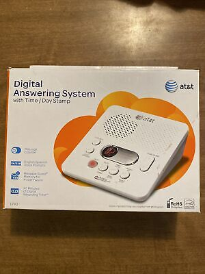 Digital Answering System ATT With Time And Day Stamp