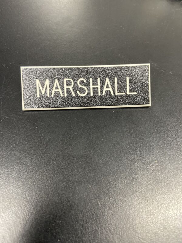 New Army Service Uniform Name Plate (CUSTOM)