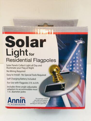 Annin Flagmakers 2804 Solar LED Pole Light, Mini