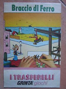 BRACCIO di FERRO trasferelli Grinta - Italia - BRACCIO di FERRO trasferelli Grinta - Italia
