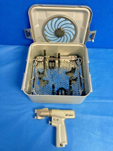 Stryker 7209 System 7 High Speed Precision Saw Surgical Saw w/ Case Orthopedic