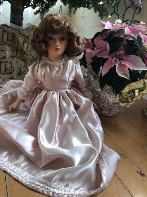 """Beautiful Rare Unique  Vintage Boudoir Doll 24"""""""