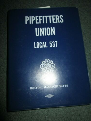 PIPEFITTERS UNION LOCAL 537, BOSTON, MASS, 1981