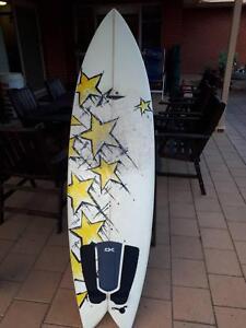 rusty surfboard