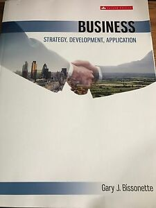 Business Strategy Bissonette 2nd Edition