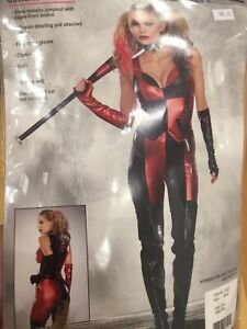 Women's Harlequin Blaster Halloween Costume Small