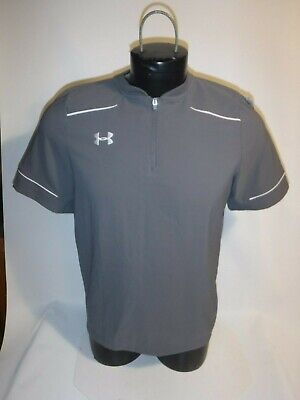 #8913 UA UNDER ARMOUR SS WORKOUT TOPS SHIRT YOUTH XLARGE PREOWNED