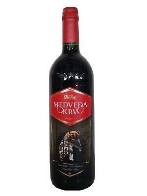 Medvedja krv 1 L Rubin Krusevac Vino Wein Serbien
