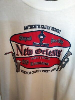 NEW ORLEANS FRENCH QUARTER PARTY BASH 2X Shirt Original Jazz - Party City New Orleans