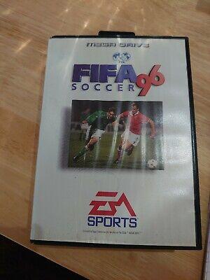 Fifa 96 Sega Mega Drive with Manual & Case PAL comprar usado  Enviando para Brazil
