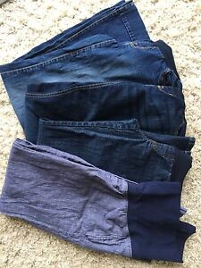 Size small maternity pants and jeans