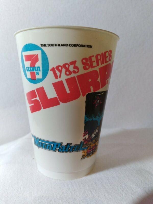 Rare Vintage Moon Patrol 1983 7-11 Atari Slurpee Cup