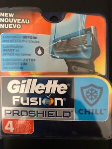 Gillette Fusion proshield Chill 4 pack