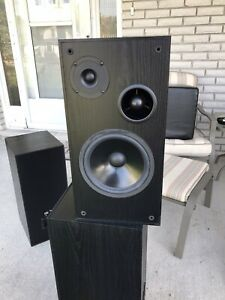 Vivid (Made by Audiosphere Research) HTV M 1 speakers