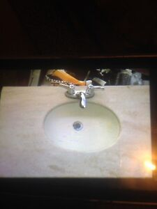 Excellent condition Marble Counter Top Sink