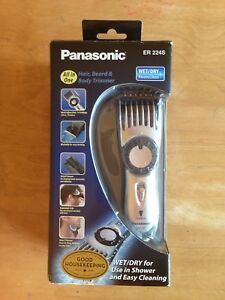 Panasonic cordless hair trimmer - works great