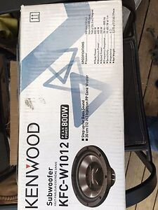 Kenwood sub brand new Bagdad Southern Midlands Preview