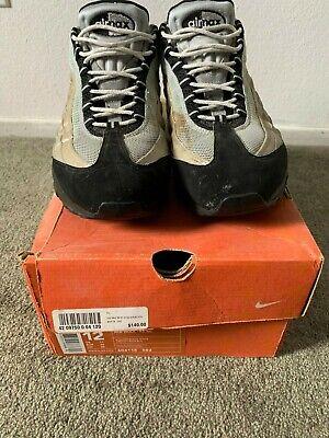 Nike AirMax 95 SC OG SZ 12 Silver/Black/White Sneakers