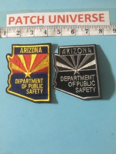LOT OF 2 DIFFERENT ARIZONA DEPT OF PUBLIC SAFETY    SHOULDER PATCHES  F052