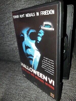Halloween VI Der Fluch Des Michael Meyers Dvd Oop Selten halloween 6 neuwertig