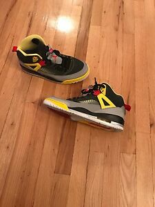 SZ. 12 Air Jordan Spiz'ike (black/yellow/red)