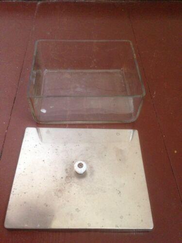 Instrumentenschale Glas Um1920