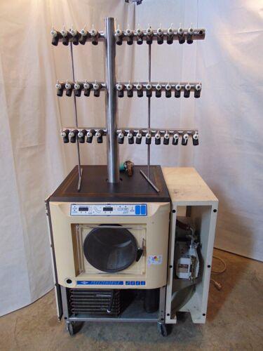 Virtis Freezemobile 25EL Freeze Dryer 374859  With Trivac Vacuum Pump  S4977