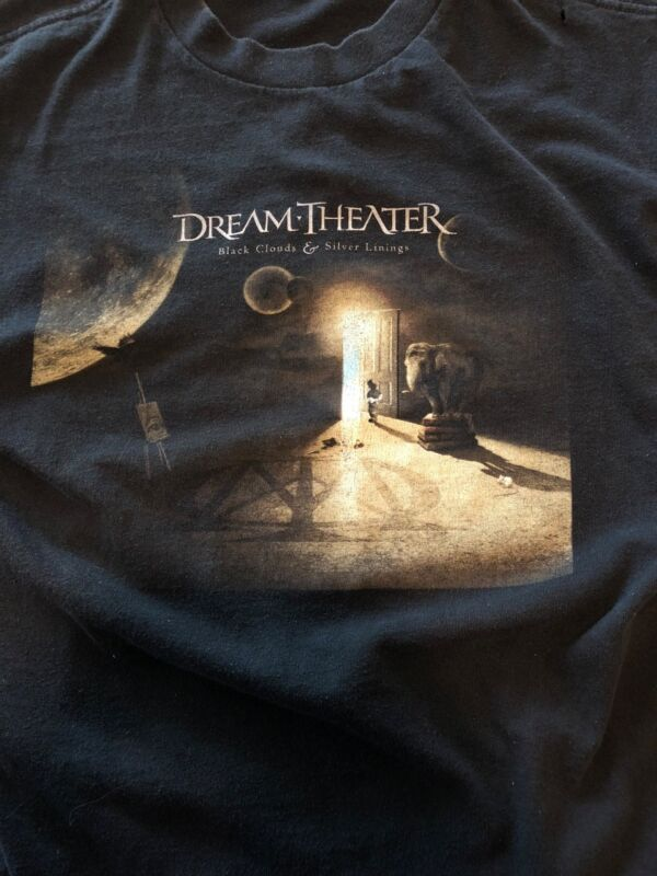 Dream Theater T-Shirt - Black Clouds & Silver Linings