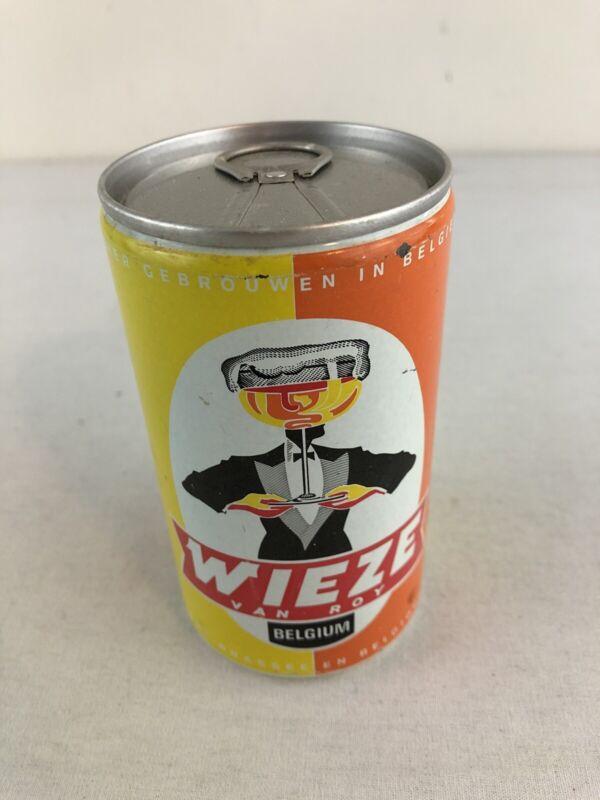 Wieze Van Roy Belgium 12 oz Bottom Opened Pull Tab Beer Can